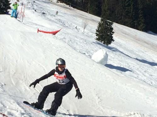 Snowboarder der MJS starten durch