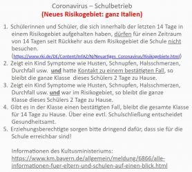 Weiterlesen: AKTUELLE INFORMATIONEN ZUM CORONAVIRUS